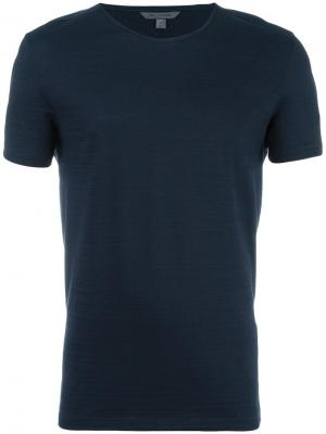 Классическая футболка John Varvatos. Цвет: синий