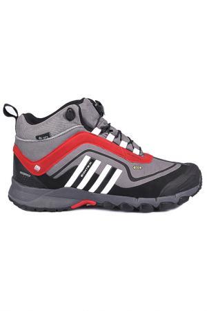 Ботинки EDITEX. Цвет: серый, красный, белый
