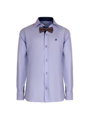 Рубашка ROMA design. Цвет: фиолетовый