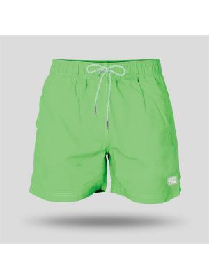 Шорты пляжные мужские JOHN FRANK. Цвет: светло-зеленый