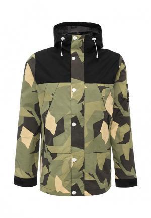 Куртка CLWR. Цвет: зеленый