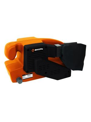 Ленточная шлифовальная машина ЛШМ-75/800 Вихрь. Цвет: оранжевый