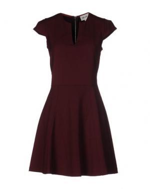 Короткое платье BELAIR. Цвет: красно-коричневый