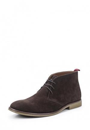 Ботинки Topman. Цвет: коричневый