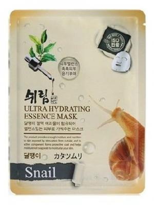 Комплект увлажняющих масок с улиточным муцином, 25 мл.*3 шт. Shelim. Цвет: белый