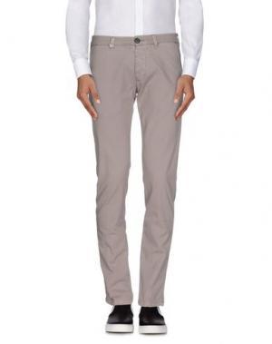 Повседневные брюки DW⁵. Цвет: серый