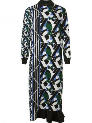 Mid-length knit dress Gig. Цвет: белый