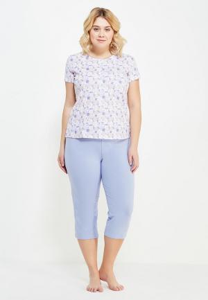 Пижама Vis-a-Vis. Цвет: фиолетовый