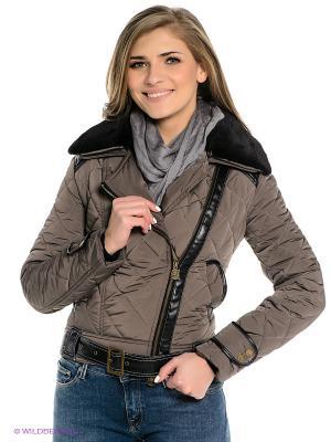 Куртка Sport Vision. Цвет: коричневый