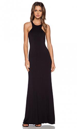 Макси платье Bella Luxx. Цвет: черный