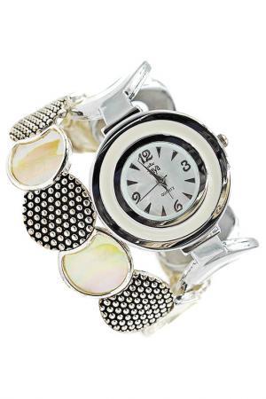 Часы наручные Taya. Цвет: серебристый, кремовый