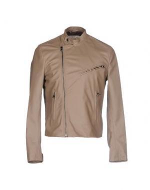 Куртка VINTAGE DE LUXE. Цвет: голубиный серый