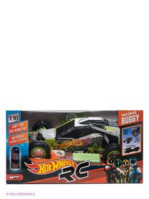 Радиоуправляемая машина Hot Wheels 1к10 Mondo. Цвет: светло-зеленый, черный