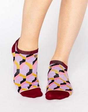 Stance Низкие носки с узором. Цвет: мульти