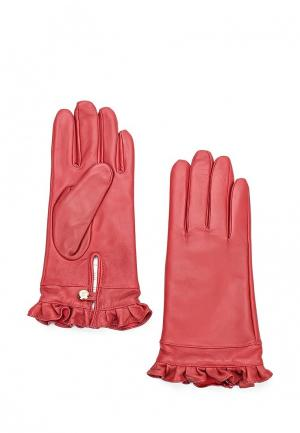 Перчатки Guess. Цвет: красный