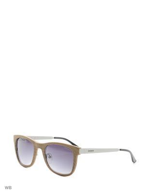 Солнцезащитные очки CARRERA 5023S XP2. Цвет: серебристый, бежевый