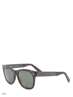 Солнцезащитные очки DQ 0162 52F Dsquared2. Цвет: коричневый, серебристый