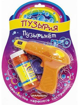 Набор для пускания мыльных пузырей Пузырьмет DREAM MAKERS. Цвет: оранжевый