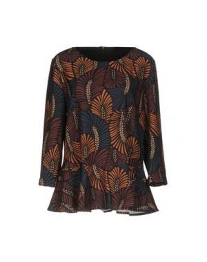 Блузка XTSY. Цвет: черный