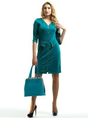 Платье Dea Fiori. Цвет: морская волна