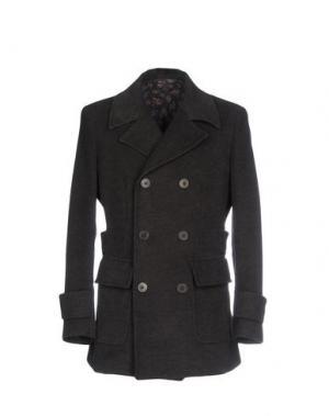 Пальто HARRY & SONS. Цвет: стальной серый