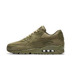 Мужские кроссовки  Air Max 90 Premium Nike. Цвет: оливковый