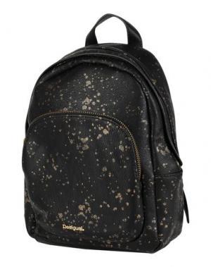 Рюкзаки и сумки на пояс DESIGUAL. Цвет: черный
