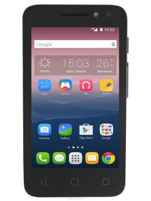 Смартфон PIXI 4 (4.0) Volcano Black R-B Alcatel. Цвет: черный