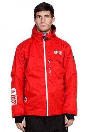 Куртка  Bioceramic Profile 2 Jkt Red Picture Organic. Цвет: красный
