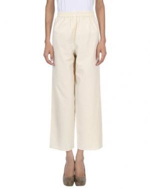 Повседневные брюки LEMAIRE. Цвет: бежевый