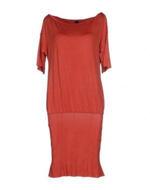 Короткое платье NOLITA. Цвет: красный