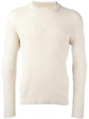Вязаный свитер Folk. Цвет: телесный