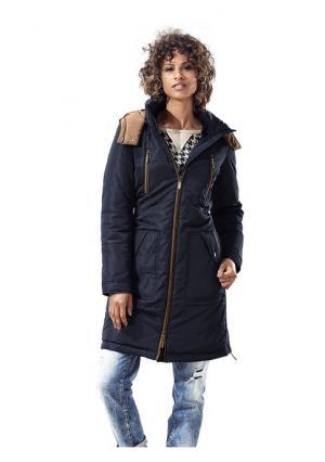 Стеганое пальто B.C. BEST CONNECTIONS. Цвет: оливковый, песочный, темно-синий