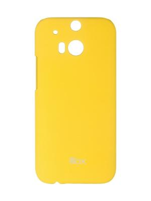 HTC One M8 skinBOX Shield case 4People. Цвет: желтый