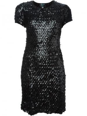 Платье с пайетками Jean Paul Gaultier Vintage. Цвет: чёрный