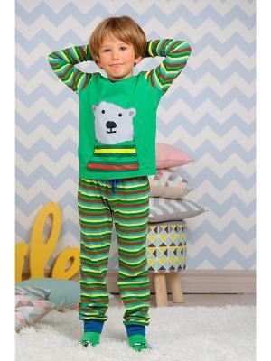 Пижама KitFox. Цвет: зеленый