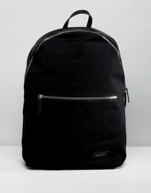 Sandqvist Черный рюкзак Samuel. Цвет: черный