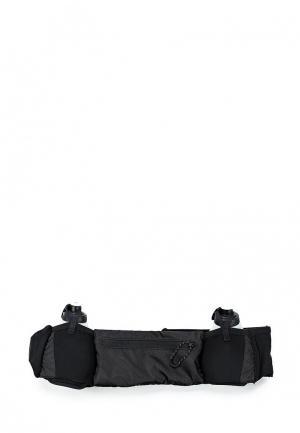 Сумка поясная adidas. Цвет: черный