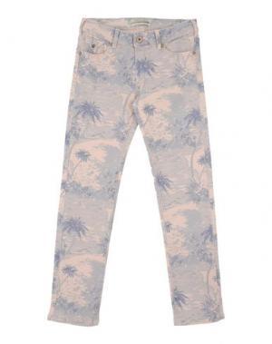 Джинсовые брюки SCOTCH R'BELLE. Цвет: светло-розовый