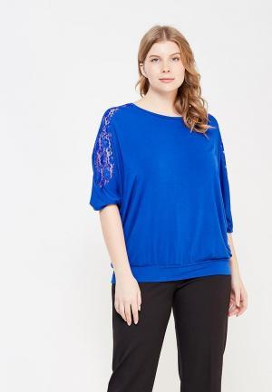 Блуза Zarus. Цвет: синий