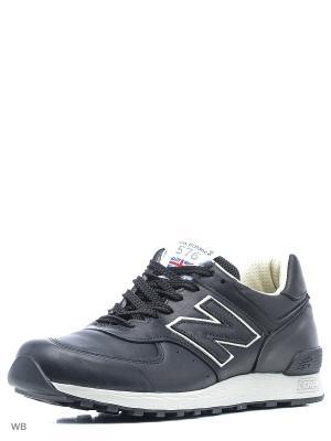 Кроссовки NEW BALANCE 576 MADE IN UK. Цвет: черный