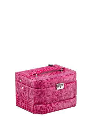 Шкатулка Ismat. Цвет: розовый