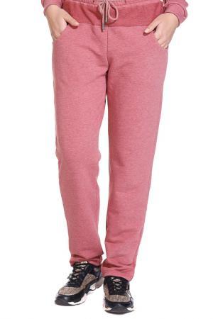 Брюки Gloss. Цвет: розовый