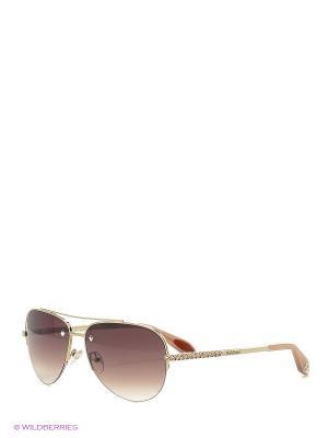 Солнцезащитные очки BLD 1614 101 Baldinini. Цвет: золотистый, розовый