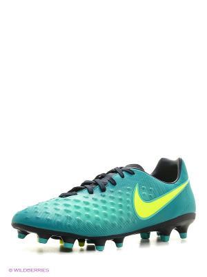 Бутсы MAGISTA ONDA II FG Nike. Цвет: зеленый