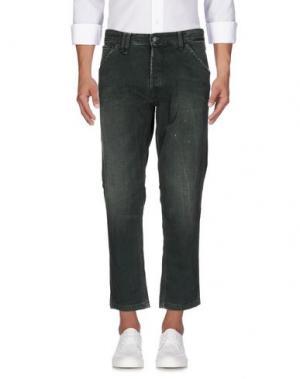 Джинсовые брюки CYCLE. Цвет: зеленый