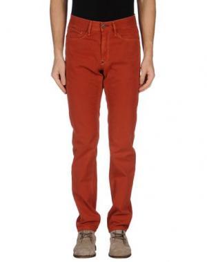 Повседневные брюки BOWERY. Цвет: коричневый
