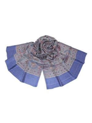 Палантин Ethnica. Цвет: синий, серый