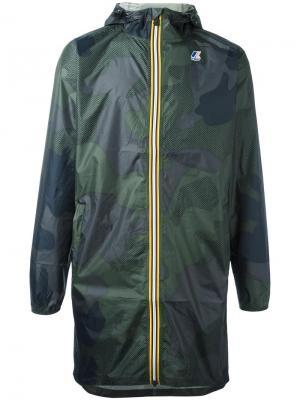 Куртка на молнии Les (Art)Ists. Цвет: зелёный