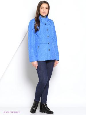 Куртка DIXI CoAT. Цвет: голубой